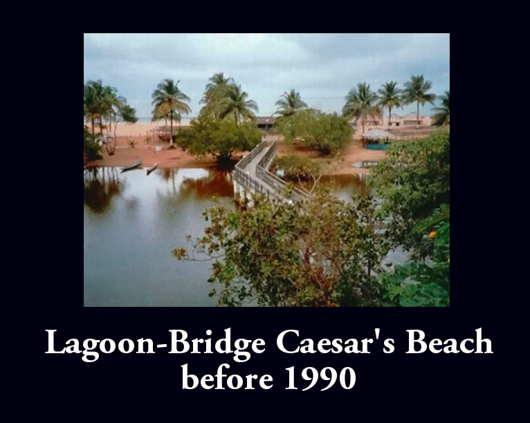 Lagoon at Caesars Beach